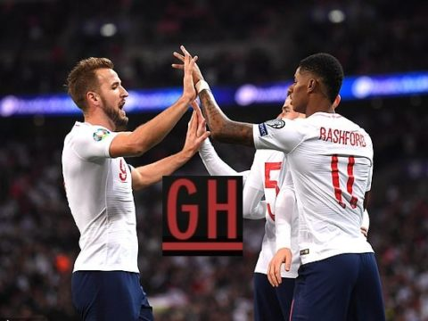 England 7-0 Montenegro - Watch goals and highlights football EURO 2020 Qualifiers