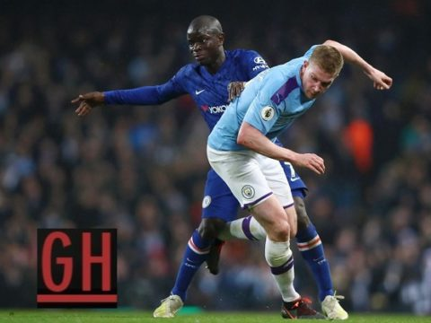 Manchester City 2-1 Chelsea - Watch goals and highlights football Premier League 2019-2020