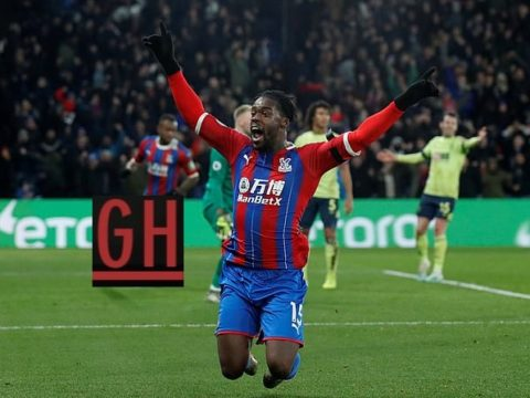 Crystal Palace 1-0 Bournemouth - Watch goals and highlights football Premier League 2019-2020
