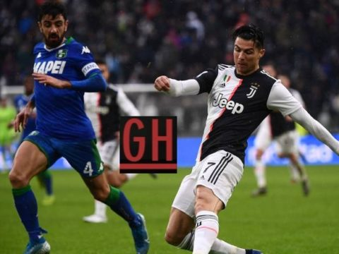 Juventus 2-2 Sassuolo - Watch goals and highlights football Serie A 2019-2020