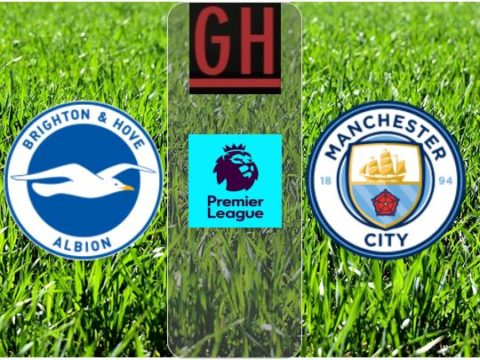 Brighton vs Manchester City - Watch goals and highlights football Premier League 2019-2020