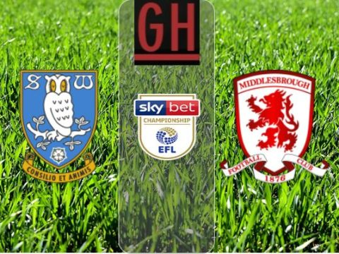 Sheffield Wednesday vs Middlesbrough – Watch goals and highlights football Championship 2019-2020