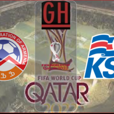 Armenia vs Iceland - World Cup Qualifiers 2022