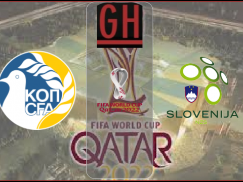 Cyprus vs Slovenia - World Cup Qualifiers 2022