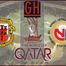 Gibraltar vs Norway - World Cup Qualifiers 2022