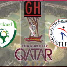 Ireland vs Luxembourg - World Cup Qualifiers 2022