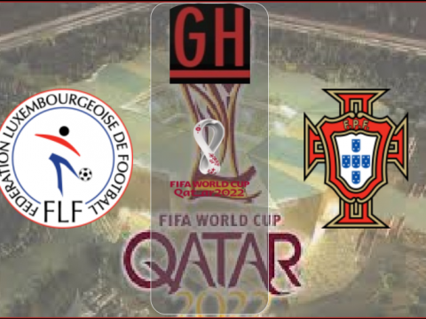 Luxembourg vs Portugal - World Cup Qualifiers 2022