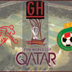 Switzerland vs Lithuania - World Cup Qualifiers 2022