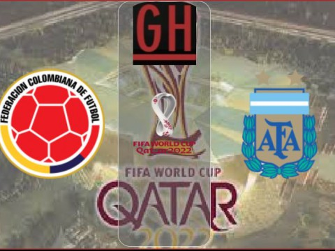 Colombia vs Argentina - World Cup Qualifiers 2022