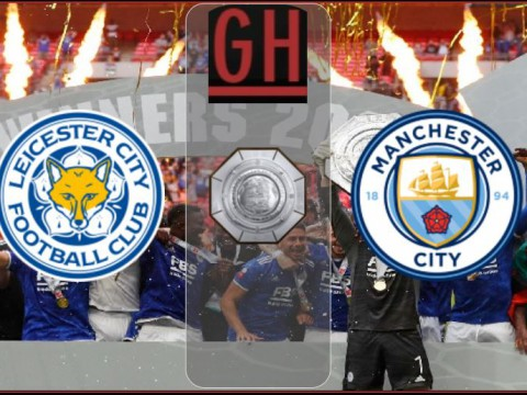 Leicester vs Manchester City - Community Shield 2021