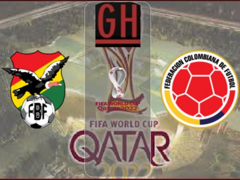 Bolivia vs Colombia - World Cup Qualifiers 2021-2022