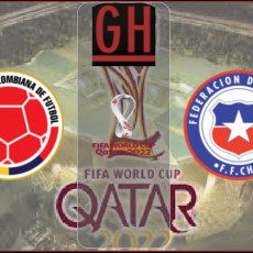 Colombia vs Chile - World Cup Qualifiers 2021-2022