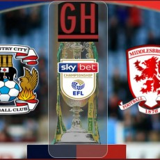 Coventry vs Middlesbrough - Championship 2021-2022