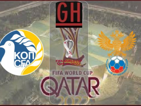 Cyprus vs Russia - World Cup Qualifiers 2021-2022