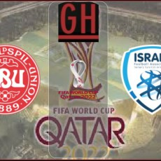 Denmark vs Israel - World Cup Qualifiers 2021-2022
