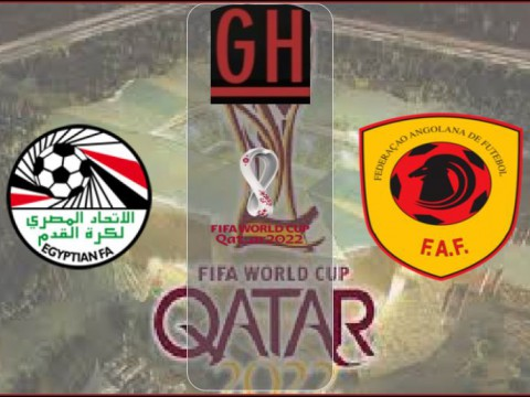 Egypt vs Angola - World Cup Qualifiers 2021-2022
