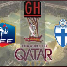 France vs Finland - World Cup Qualifiers 2021-2022