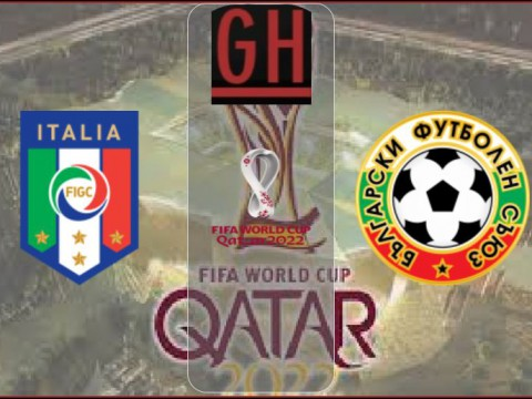 Italy vs Bulgaria - World Cup Qualifiers 2021-2022