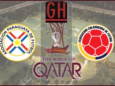 Paraguay vs Colombia - World Cup Qualifiers 2021-2022