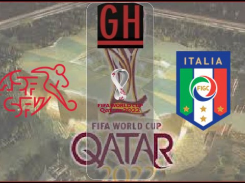 Switzerland vs Italy - World Cup Qualifiers 2021-2022