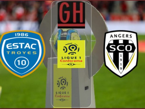 Troyes vs Angers - Ligue 1 Conforama 2021-2022