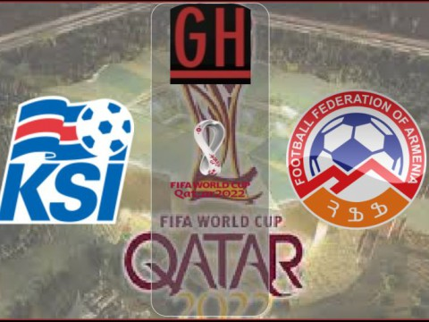 Iceland vs Armenia - World Cup Qualifiers 2021-2022