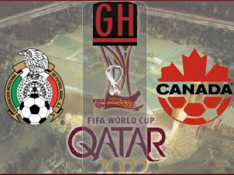 Mexico vs Canada - World Cup Qualifiers 2021-2022