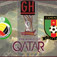 Mozambique vs Cameroon - World Cup Qualifiers 2021-2022