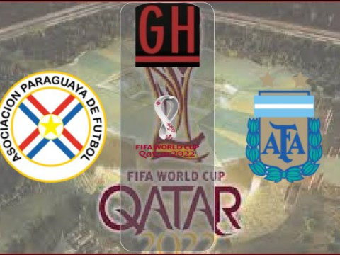 Paraguay vs Argentina - World Cup Qualifiers 2021-2022