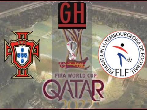 Portugal vs Luxembourg - World Cup Qualifiers 2022
