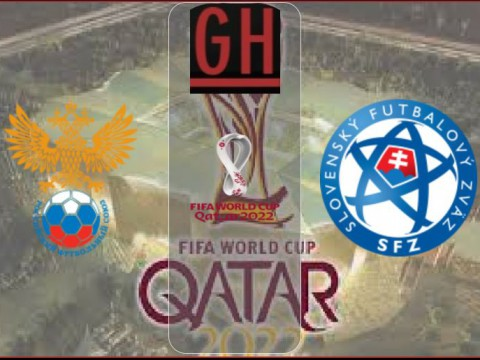 Russia vs Slovakia - World Cup Qualifiers 2021-2022