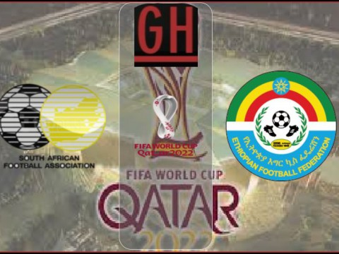 South Africa vs Ethiopia - World Cup Qualifiers 2022